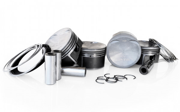 Forged Pistons Kit by MAHLE for 1.8L TSI Chain-Driven Engines