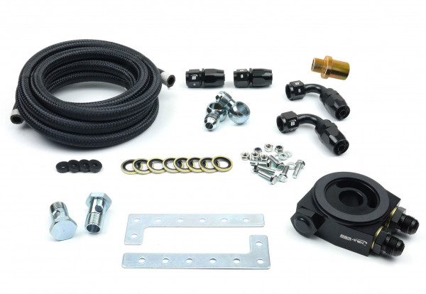 Universal Oil Cooler Mounting Kit with Thermostat BAR-TEK®