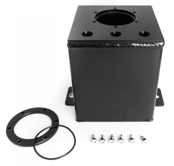 Fuel / gasoline catchtank 2 Ltr. for Bosch 044 fuel pump and more.