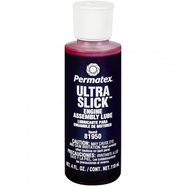 Permatex® Ultra Slick™ Assembly oil for engine