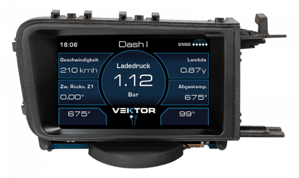 Vector Data Display for VW Golf 7 Pro Version