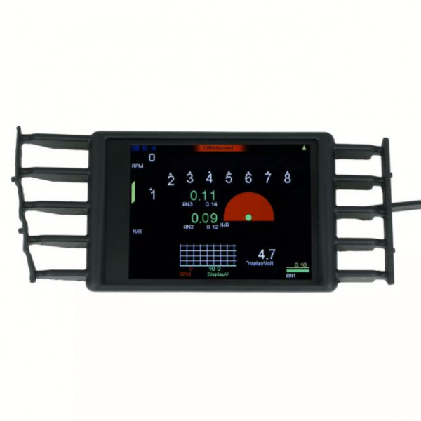 """VW Polo 6R MFD32 - 3.2"""" Display with OBD II Adapter CANchecked"""
