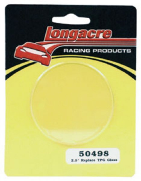 """Replacement for glass 2 1/2"""" Longacre"""