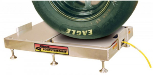"""Roll-off Levelers for 2 1/2"""" scale pads"""